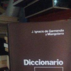 Diccionarios de segunda mano: DICCIONARIO DE BOLSA, J. IGNACIO DE GARMENDIA Y MIANGOLARRA, ED. PIRÁMIDE. Lote 276668883