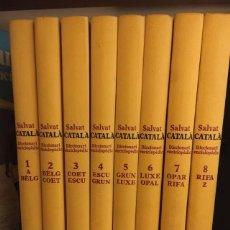 Diccionarios de segunda mano: SALVAT CATALA. DICCIONARI ENCICLOPEDIC (8 VOLS.) MUY BUEN ESTADO. Lote 276816808