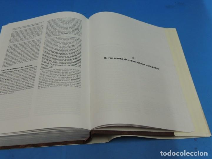 Diccionarios de segunda mano: DICCIONARIO HERÁLDICO Y NOBILIARIO DE LOS REINOS DE ESPAÑA.- FERNANDO GONZÁLEZ-DORIA - Foto 19 - 277176023