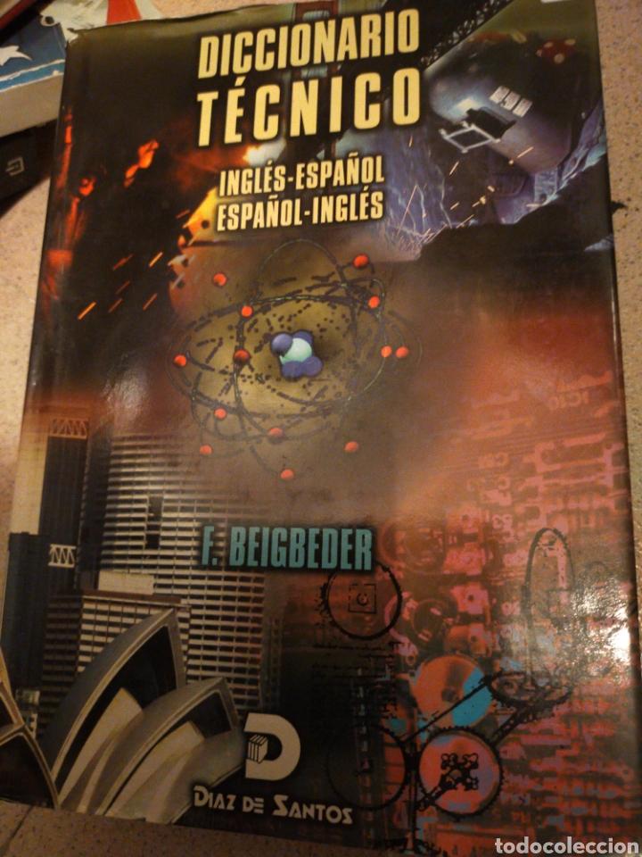 DICCIONARIO TÉCNICO INGLÉS -ESPAÑOL F. BEIGBEDER ESTADO NORMAL BUENO (Libros de Segunda Mano - Diccionarios)