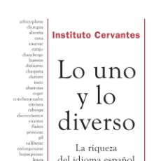 Diccionarios de segunda mano: LO UNO Y LO DIVERSO. Lote 277270663