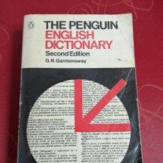 Diccionarios de segunda mano: THE PENGUIN ENGLISH DICTIONARY. SECOND EDITION. G. N. GARMONSWAY.. Lote 277305813