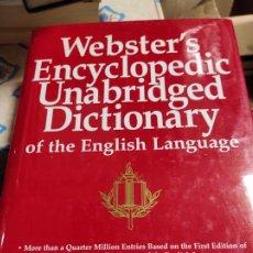 Diccionarios de segunda mano: WEBSTER´S ENCYCLOPEDIC UNABRIDGED DICTIONARY OF THE ENGLISH LANGUAGE. DICCIONARIO INGLES. Lote 277597968