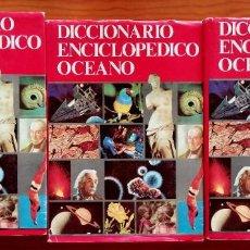 Diccionarios de segunda mano: DICCIONARIO ENCICLOPÉDICO OCÉANO 3 TOMOS. Lote 278797313