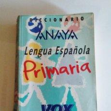 Diccionarios de segunda mano: DICCIONARIO LENGUA ESPAÑOLA VOX PRIMARIA. 1997. Lote 278925993