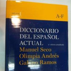 Diccionarios de segunda mano: DICCIONARIO DEL ESPAÑOL ACTUAL 2 TOMOS SA5282. Lote 283881373