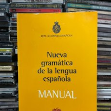 Libri di seconda mano: NUEVA GRAMÁTICA DE LA LENGUA ESPAÑOLA MANUAL. Lote 284712978