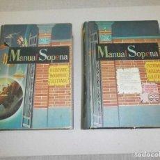 Libri di seconda mano: DICCIONARIO ILUSTRADO MANUAL SOPENA TOMO 1 Y 2. Lote 285452478