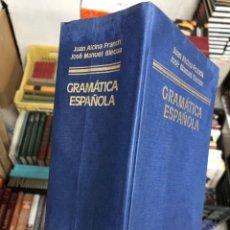 Diccionarios de segunda mano: GRAMATICA ESPAÑOLA - ARIEL - JUAN ALCINA FRANCH - JOSE MANUEL BLECUA. Lote 287595383