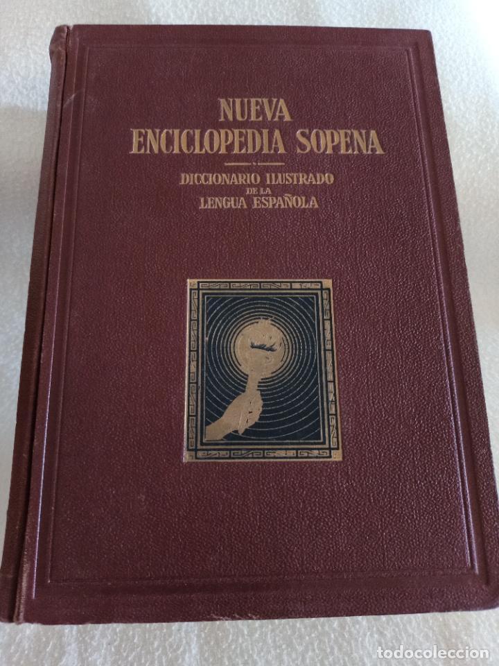 Diccionarios de segunda mano: NUEVA ENCICLOPEDIA SOPENA. DICCIONARIO ILUSTRADO DE LA LENGUA ESPAÑOLA. 5 TOMOS. 1952. ED EXITO. VER - Foto 2 - 288369983