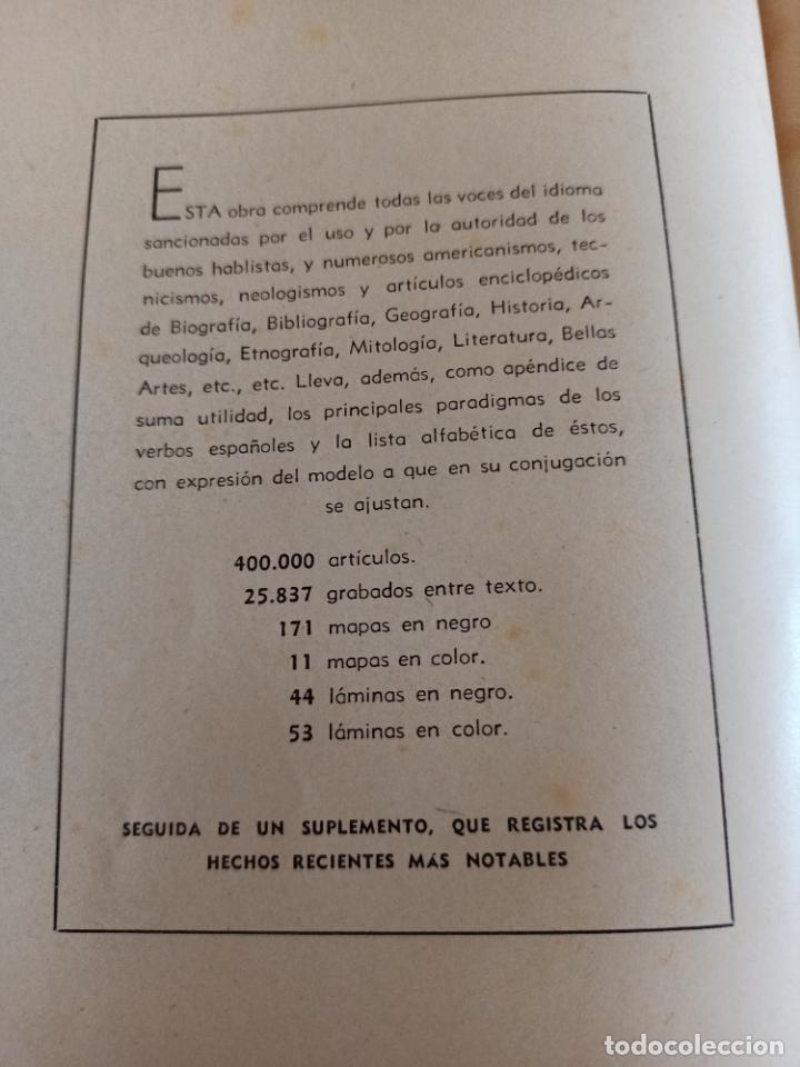 Diccionarios de segunda mano: NUEVA ENCICLOPEDIA SOPENA. DICCIONARIO ILUSTRADO DE LA LENGUA ESPAÑOLA. 5 TOMOS. 1952. ED EXITO. VER - Foto 4 - 288369983