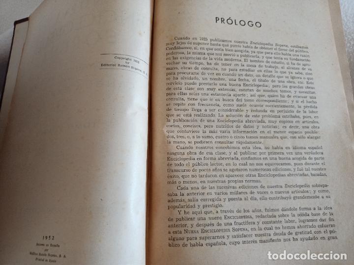 Diccionarios de segunda mano: NUEVA ENCICLOPEDIA SOPENA. DICCIONARIO ILUSTRADO DE LA LENGUA ESPAÑOLA. 5 TOMOS. 1952. ED EXITO. VER - Foto 6 - 288369983