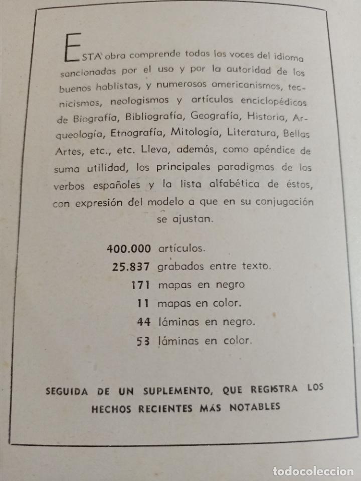 Diccionarios de segunda mano: NUEVA ENCICLOPEDIA SOPENA. DICCIONARIO ILUSTRADO DE LA LENGUA ESPAÑOLA. 5 TOMOS. 1952. ED EXITO. VER - Foto 11 - 288369983