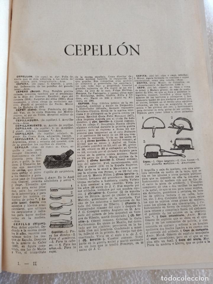 Diccionarios de segunda mano: NUEVA ENCICLOPEDIA SOPENA. DICCIONARIO ILUSTRADO DE LA LENGUA ESPAÑOLA. 5 TOMOS. 1952. ED EXITO. VER - Foto 18 - 288369983