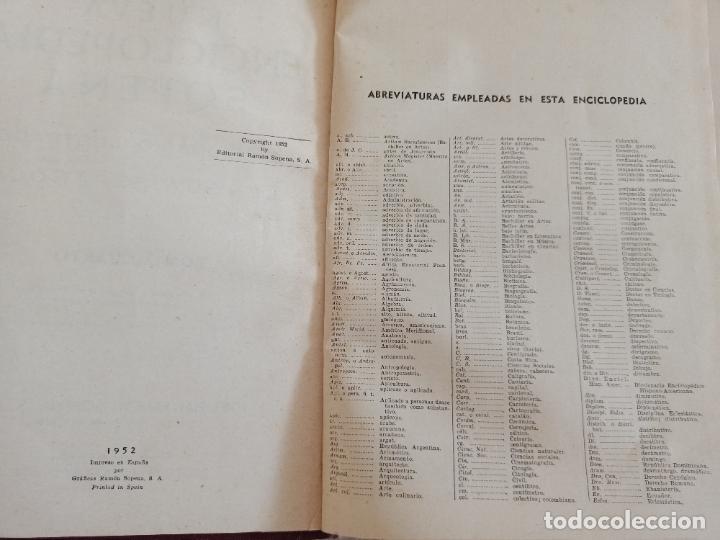 Diccionarios de segunda mano: NUEVA ENCICLOPEDIA SOPENA. DICCIONARIO ILUSTRADO DE LA LENGUA ESPAÑOLA. 5 TOMOS. 1952. ED EXITO. VER - Foto 19 - 288369983