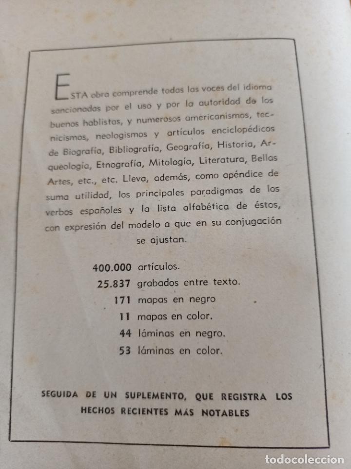 Diccionarios de segunda mano: NUEVA ENCICLOPEDIA SOPENA. DICCIONARIO ILUSTRADO DE LA LENGUA ESPAÑOLA. 5 TOMOS. 1952. ED EXITO. VER - Foto 26 - 288369983