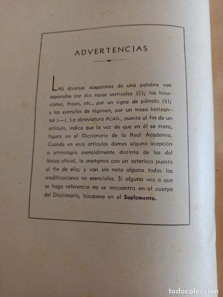 Diccionarios de segunda mano: NUEVA ENCICLOPEDIA SOPENA. DICCIONARIO ILUSTRADO DE LA LENGUA ESPAÑOLA. 5 TOMOS. 1952. ED EXITO. VER - Foto 30 - 288369983