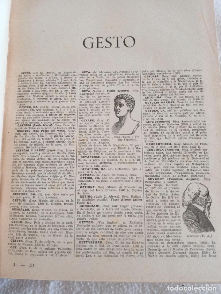 Diccionarios de segunda mano: NUEVA ENCICLOPEDIA SOPENA. DICCIONARIO ILUSTRADO DE LA LENGUA ESPAÑOLA. 5 TOMOS. 1952. ED EXITO. VER - Foto 31 - 288369983