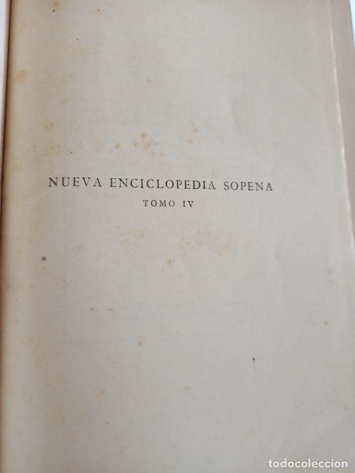 Diccionarios de segunda mano: NUEVA ENCICLOPEDIA SOPENA. DICCIONARIO ILUSTRADO DE LA LENGUA ESPAÑOLA. 5 TOMOS. 1952. ED EXITO. VER - Foto 35 - 288369983