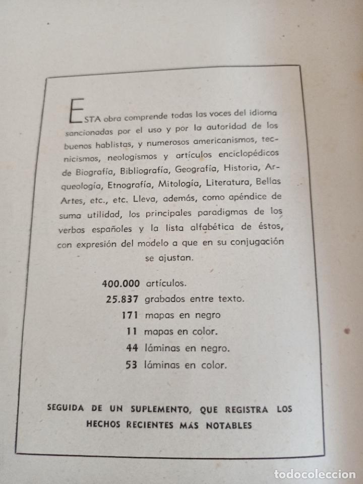 Diccionarios de segunda mano: NUEVA ENCICLOPEDIA SOPENA. DICCIONARIO ILUSTRADO DE LA LENGUA ESPAÑOLA. 5 TOMOS. 1952. ED EXITO. VER - Foto 36 - 288369983