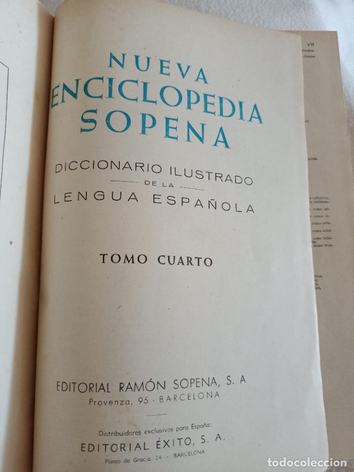 Diccionarios de segunda mano: NUEVA ENCICLOPEDIA SOPENA. DICCIONARIO ILUSTRADO DE LA LENGUA ESPAÑOLA. 5 TOMOS. 1952. ED EXITO. VER - Foto 37 - 288369983