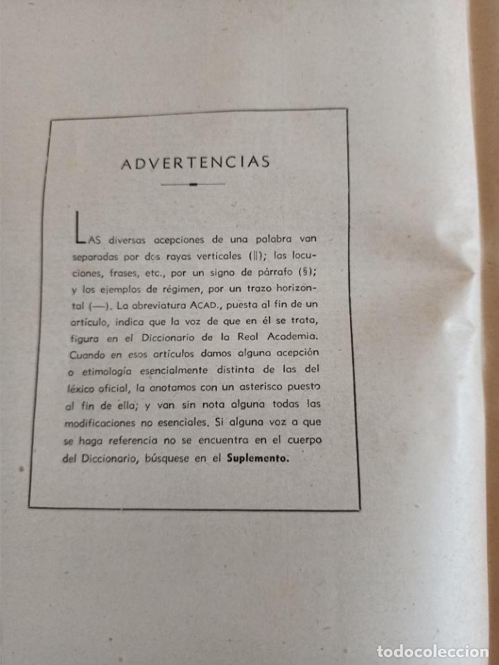 Diccionarios de segunda mano: NUEVA ENCICLOPEDIA SOPENA. DICCIONARIO ILUSTRADO DE LA LENGUA ESPAÑOLA. 5 TOMOS. 1952. ED EXITO. VER - Foto 40 - 288369983