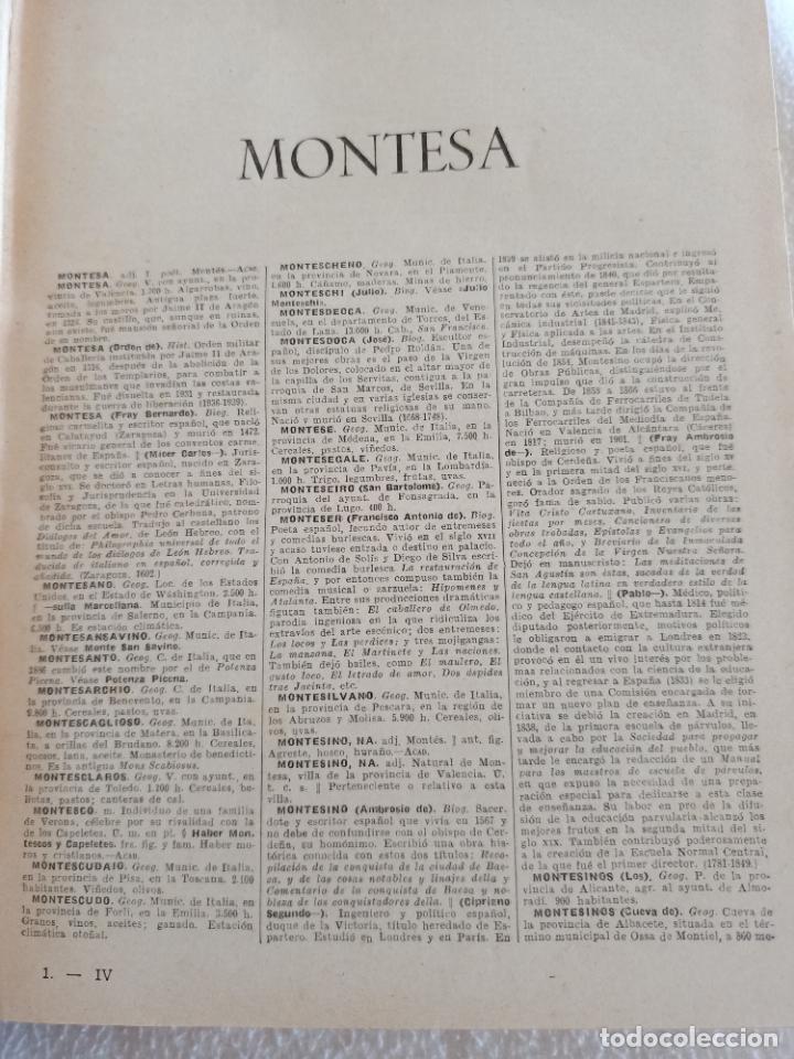 Diccionarios de segunda mano: NUEVA ENCICLOPEDIA SOPENA. DICCIONARIO ILUSTRADO DE LA LENGUA ESPAÑOLA. 5 TOMOS. 1952. ED EXITO. VER - Foto 41 - 288369983