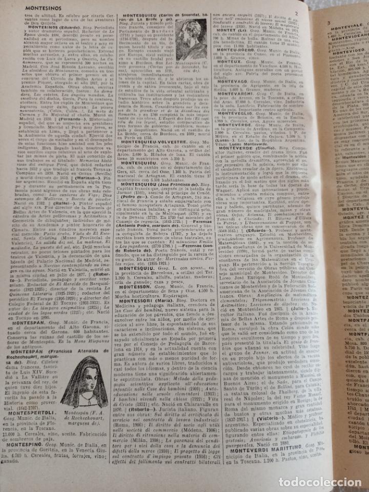 Diccionarios de segunda mano: NUEVA ENCICLOPEDIA SOPENA. DICCIONARIO ILUSTRADO DE LA LENGUA ESPAÑOLA. 5 TOMOS. 1952. ED EXITO. VER - Foto 42 - 288369983