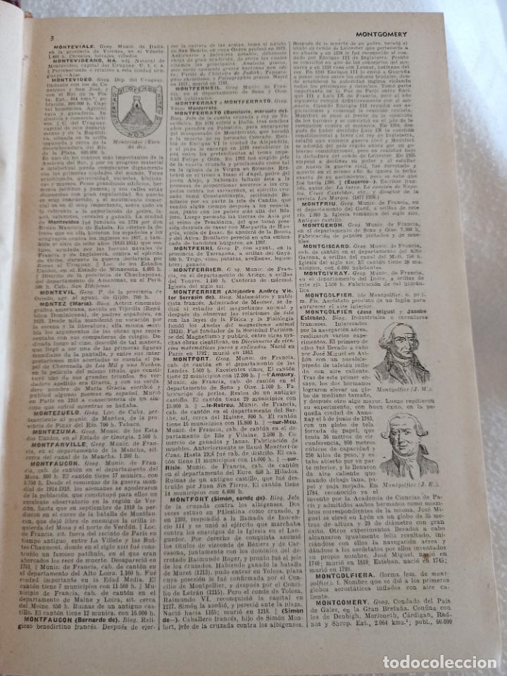 Diccionarios de segunda mano: NUEVA ENCICLOPEDIA SOPENA. DICCIONARIO ILUSTRADO DE LA LENGUA ESPAÑOLA. 5 TOMOS. 1952. ED EXITO. VER - Foto 43 - 288369983