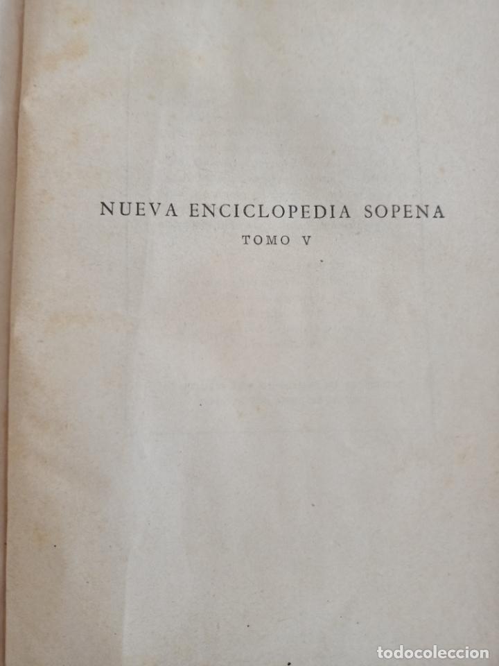 Diccionarios de segunda mano: NUEVA ENCICLOPEDIA SOPENA. DICCIONARIO ILUSTRADO DE LA LENGUA ESPAÑOLA. 5 TOMOS. 1952. ED EXITO. VER - Foto 47 - 288369983