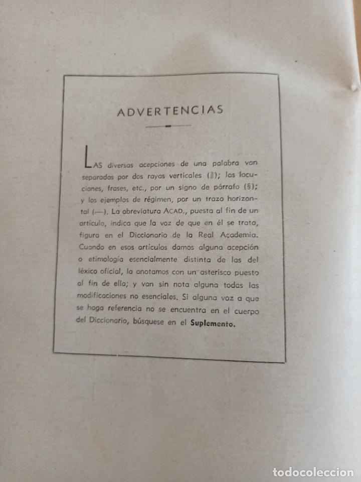 Diccionarios de segunda mano: NUEVA ENCICLOPEDIA SOPENA. DICCIONARIO ILUSTRADO DE LA LENGUA ESPAÑOLA. 5 TOMOS. 1952. ED EXITO. VER - Foto 53 - 288369983