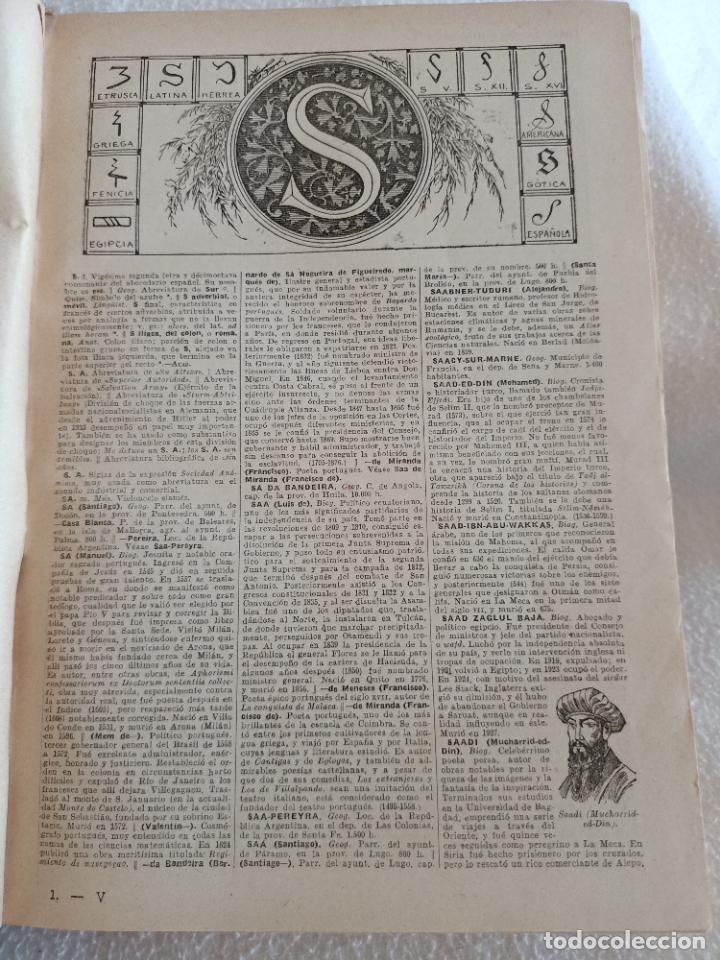 Diccionarios de segunda mano: NUEVA ENCICLOPEDIA SOPENA. DICCIONARIO ILUSTRADO DE LA LENGUA ESPAÑOLA. 5 TOMOS. 1952. ED EXITO. VER - Foto 54 - 288369983