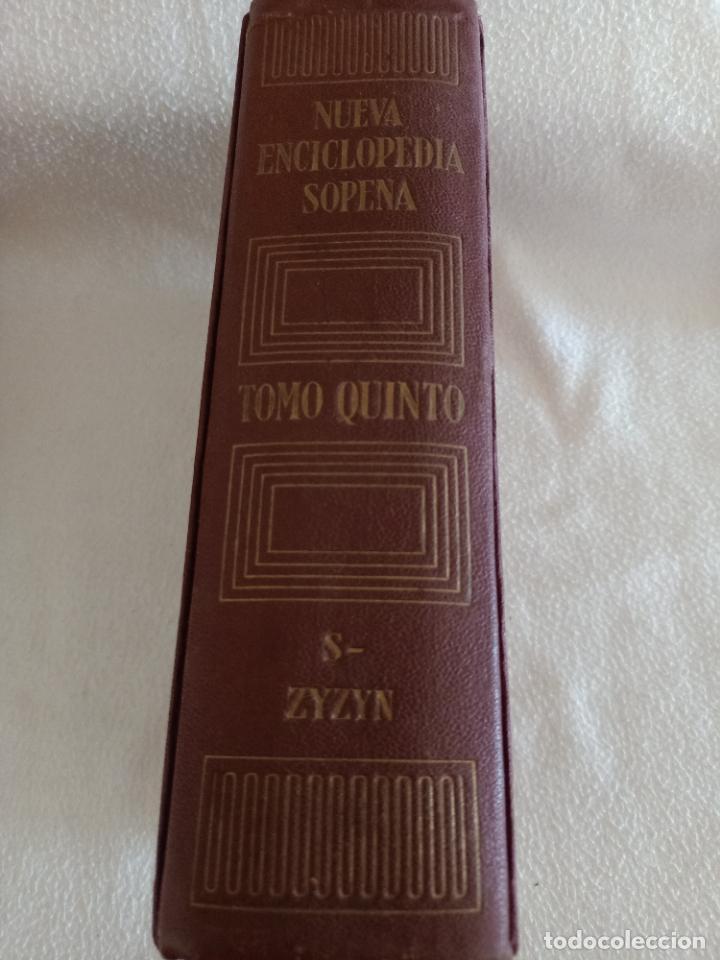 Diccionarios de segunda mano: NUEVA ENCICLOPEDIA SOPENA. DICCIONARIO ILUSTRADO DE LA LENGUA ESPAÑOLA. 5 TOMOS. 1952. ED EXITO. VER - Foto 56 - 288369983