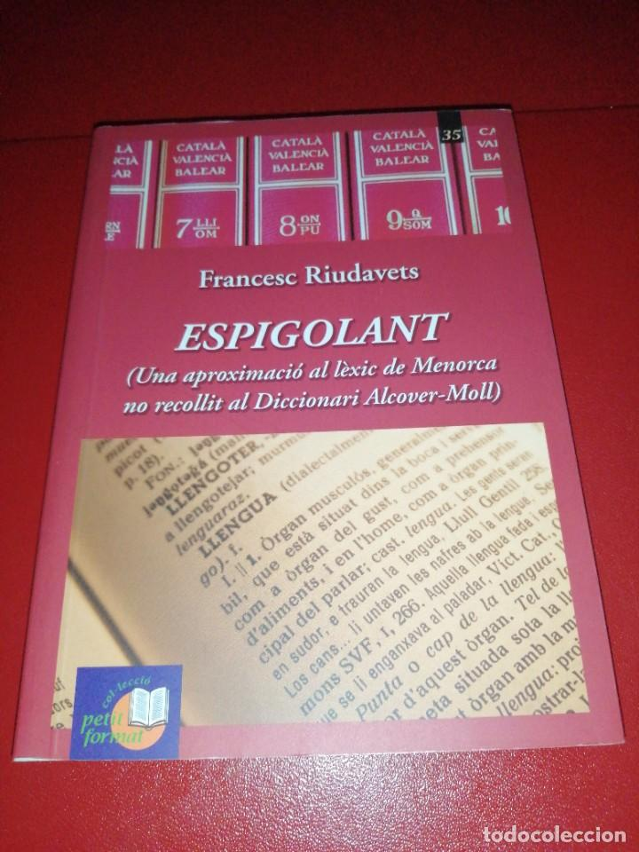 FRANCESC RIUDAVETS, ESPIGOLANT (Libros de Segunda Mano - Diccionarios)