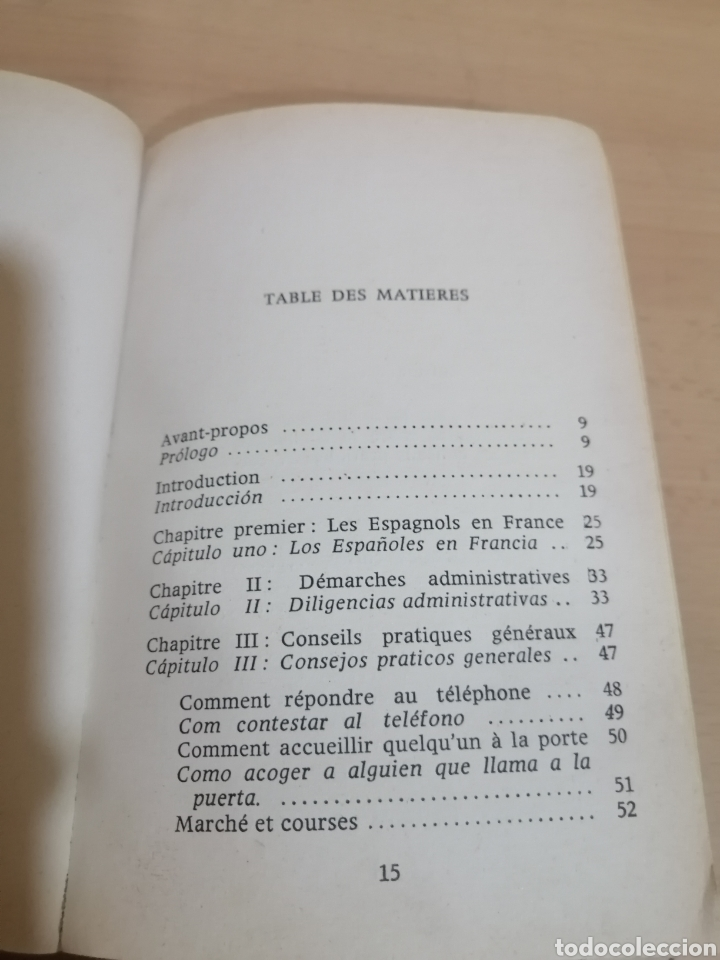 Diccionarios de segunda mano: CONSEJOS EN FRANCÉS Y EN ESPAÑOL PARA LAS EMPLEADAS DOMÉSTICAS ESPAÑOLAS EN FRANCIA - Foto 5 - 288485918