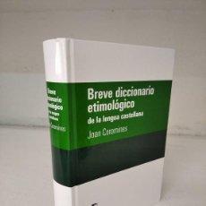 Diccionarios de segunda mano: DICCIONARIO ETIMOLÓGICO. Lote 288552703