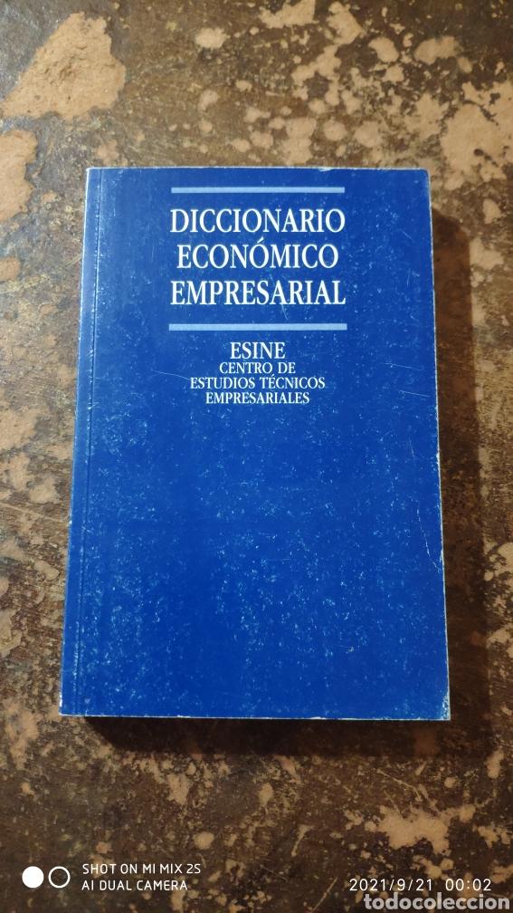 DICCIONARIO ECONÓMICO EMPRESARIAL (ESINE, CENTRO DE ESTUDIOS TECNICOS EMPRESARIALES) (Libros de Segunda Mano - Diccionarios)