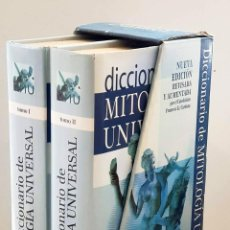 Diccionarios de segunda mano: DICCIONARIO DE MITOLOGÍA UNIVERSAL (2 TOMOS EN ESTUCHE) - NOËL, J.F.M.. Lote 288595213