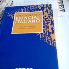 Diccionarios de segunda mano: DICCIONARIO ESENCIAL ITALIANO SPANOLO. ESPAÑOL ITALIANO. EST5B1. Lote 288653553