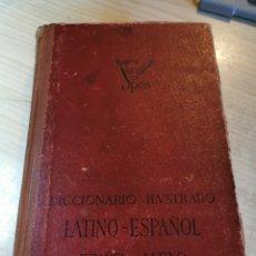 Diccionarios de segunda mano: DICCIONARIO ILUSTRADO LATINO ESPAÑOL - ESPAÑOL LATINO - EDITORIAL SPES 1944. Lote 288697233
