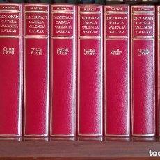 Diccionarios de segunda mano: DICCIONARI CATALÀ-VALENCIÀ-BALEAR ALCOVER / MOLL 10 VOLUMS OBRA COMPLETA. Lote 288724758