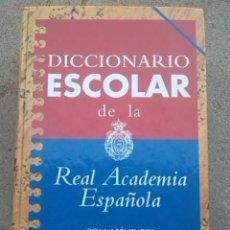 Diccionarios de segunda mano: DICCIONARIO ESCOLAR DE LA REAL ACADEMIA ESPAÑOLA. 1997.. Lote 289523713