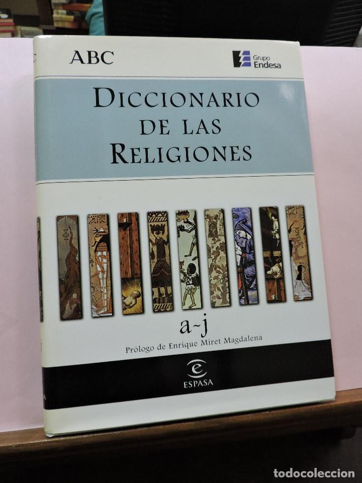 DICCIONARIO DE LAS RELIGIONES A-J. ESPASA ABC (Libros de Segunda Mano - Diccionarios)