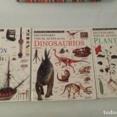 Diccionarios de segunda mano: DICIONARIOS VISUALES ALTEA 5 LIBROS SANTILLANA SA. Lote 289627043