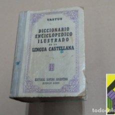 Diccionarios de segunda mano: VASTUS: DICCIONARIO ENCICLOPÉDICO ILUSTRADO DE LA LENGUA CASTELLANA. Lote 295036958