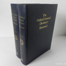Diccionarios de segunda mano: THE OXFORD UNIVERSAL DICTIONARY ILLUSTRATED THIRD EDITION 1973 (OXFORD UNIVERSITY PRESS) EN INGLÉS. Lote 295039968