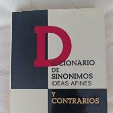Diccionarios de segunda mano: DICCIONARIO DE SINÓNIMOS IDEAS AFINES Y CONTRARIOS.. Lote 295314503