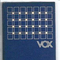 Diccionarios de segunda mano: LIBRO, DICCIONARIO VOX FRANCES-ESPAÑOL/ESPAÑOL-FRANCES, ED. BIBLIOGRAF 1977. Lote 295503628