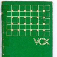 Diccionarios de segunda mano: LIBRO, DICCIONARIO VOX INGLES-ESPAÑOL/ESPAÑOL-INGLES, ED. BIBLIOGRAF 1973. Lote 295504458