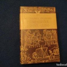 Diccionarios de segunda mano: DICCIONARIO ILUSTRADO LATINO-ESPAÑOL ESPAÑOL-LATINO EDITORIAL BIBLIOGRAF 1964. Lote 295519068